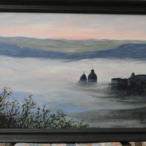 Ibla nella nebbia 500euro 60x40